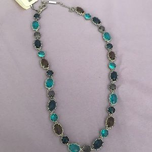 NWT Jenny Packham Previous Stone Necklace